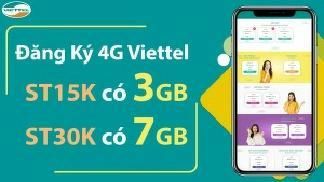 Gói ST15K và ST30K Viettel - Ưu đãi khủng cho khách hàng